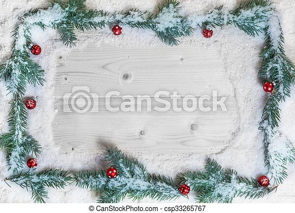 weihnachten, hintergrund - csp33265767