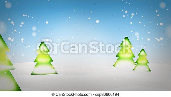 weihnachten, hintergrund - csp30606194