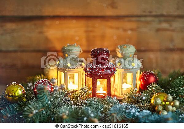 weihnachten laternen baubles schnee holz baubles. Black Bedroom Furniture Sets. Home Design Ideas