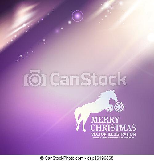 Frohe Weihnachten Pferd.Weihnachten Pferd Card Fröhlich Grüße