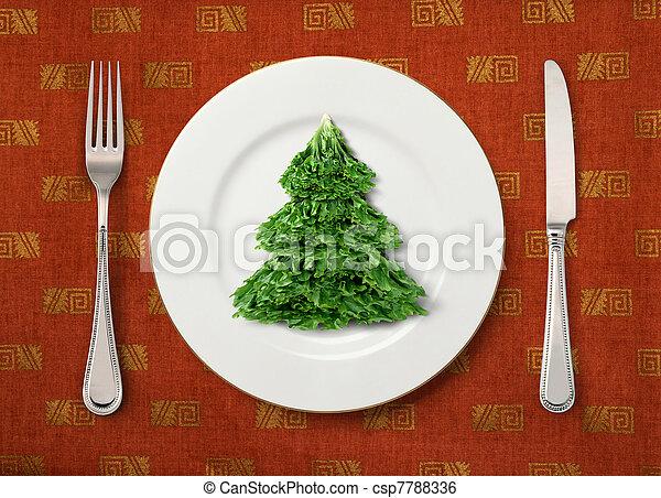 Salate fur weihnachten