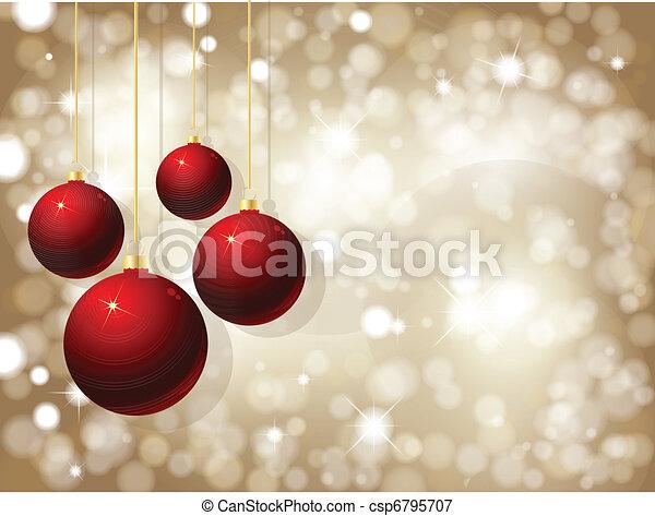 weihnachtsbaubles - csp6795707