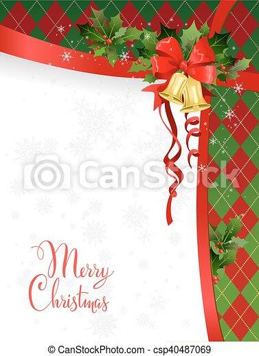 Weihnachtskarte - csp40487069