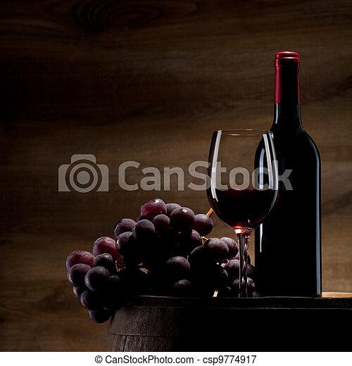 Wein - csp9774917