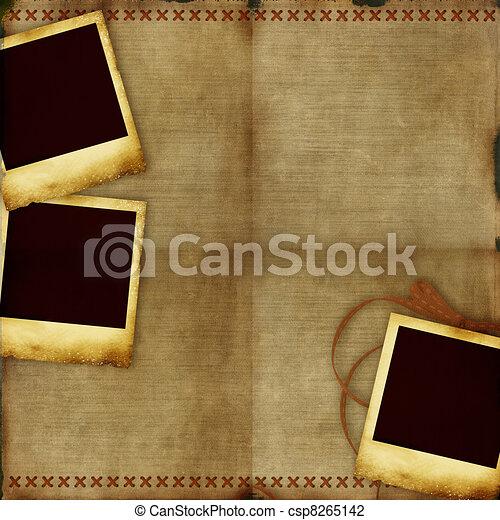 weinlese, altes , hintergrundbilder - csp8265142