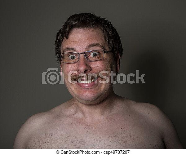 Weird Glasses Guy 7