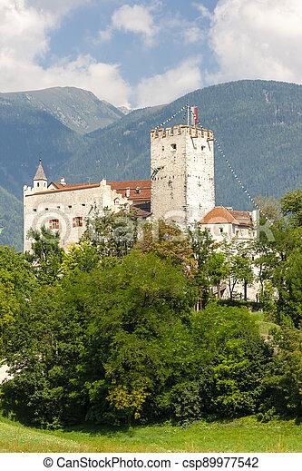 Weissenstein Castle in Osttirol, Austria - csp89977542