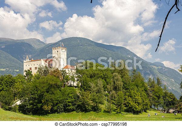Weissenstein Castle in Osttirol, Austria - csp77995198