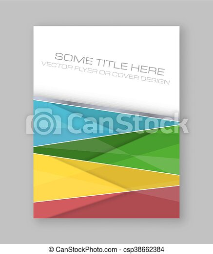 wektor, barwny, banner., abstrakcyjny, lotnik, projektować, broszura, zbiorowy, albo, szablon - csp38662384
