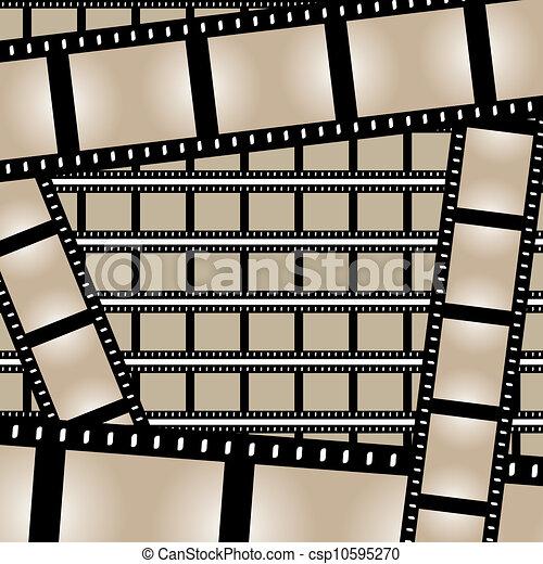 wektor, filmy, obnaża - csp10595270