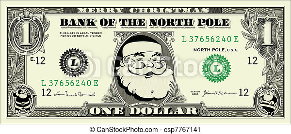 wektor, halabarda dolara, święty, jeden - csp7767141
