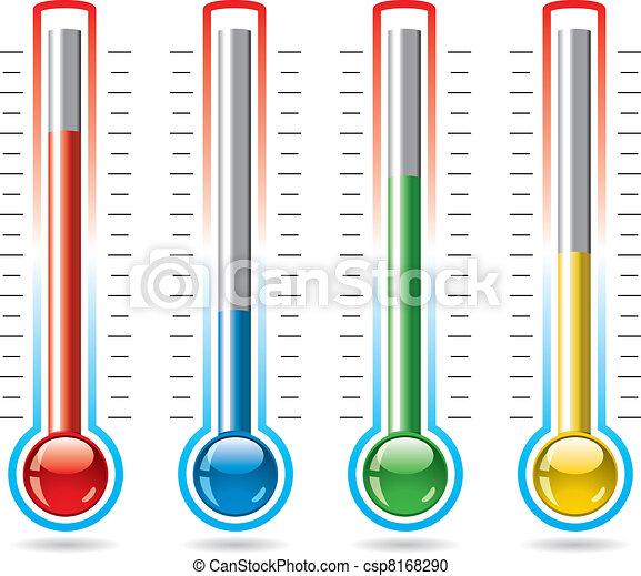 wektor, termometry - csp8168290