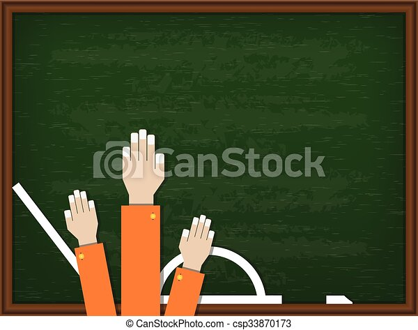 Welcome back to school design. Vector illustration - csp33870173