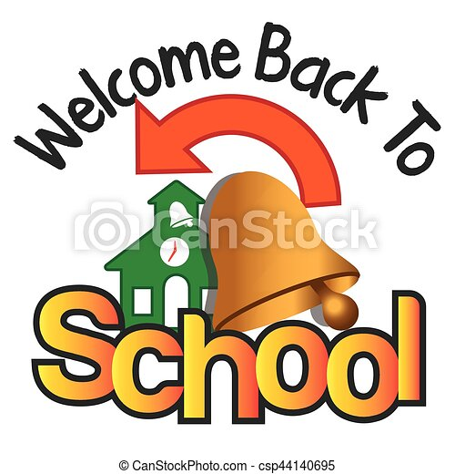 welcome back to school rh canstockphoto com welcome back to school clipart black and white animated welcome back to school clipart