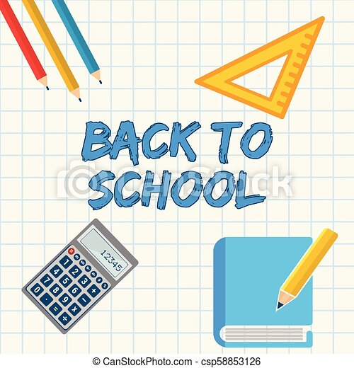 Welcome back to school! - csp58853126