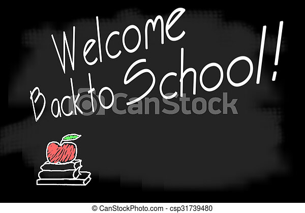 Welcome back to school - csp31739480