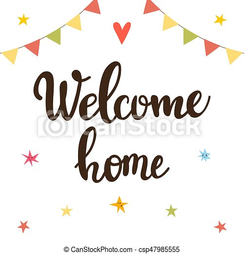 welcome home poster - Isken kaptanband co