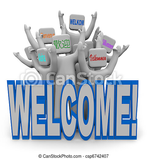 welcoming images free