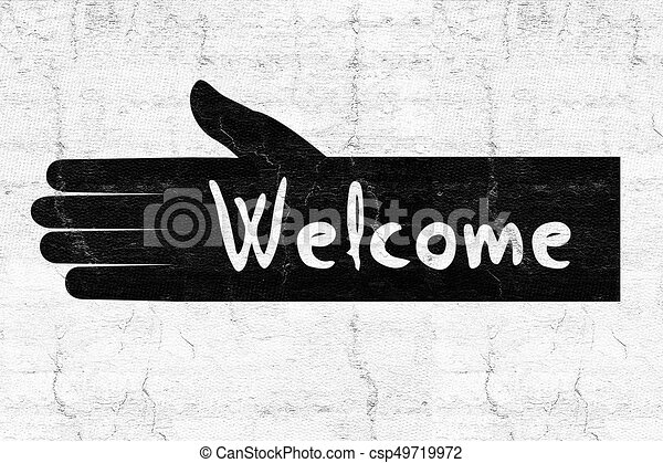 Welcome Symbol