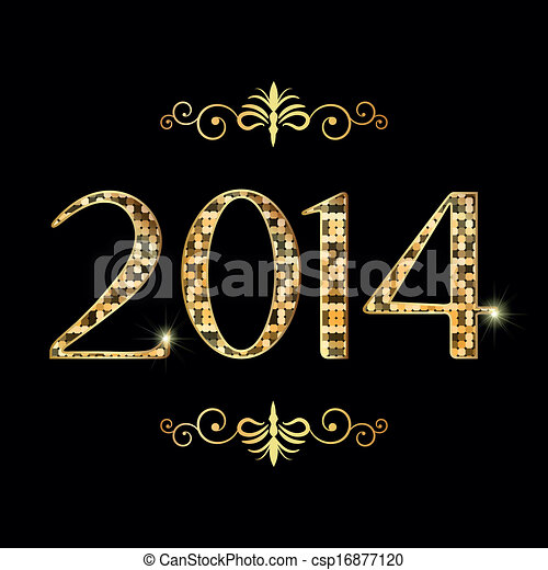 Welcome to 2014 - csp16877120