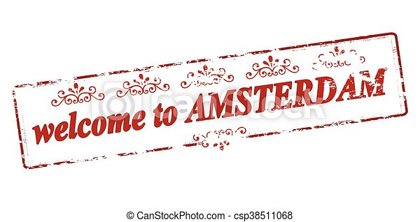 Welcome to Amsterdam - csp38511068