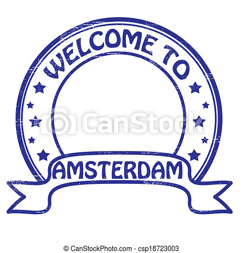 Welcome to Amsterdam - csp18723003