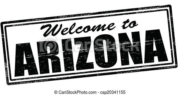 Welcome to Arizona - csp20341155