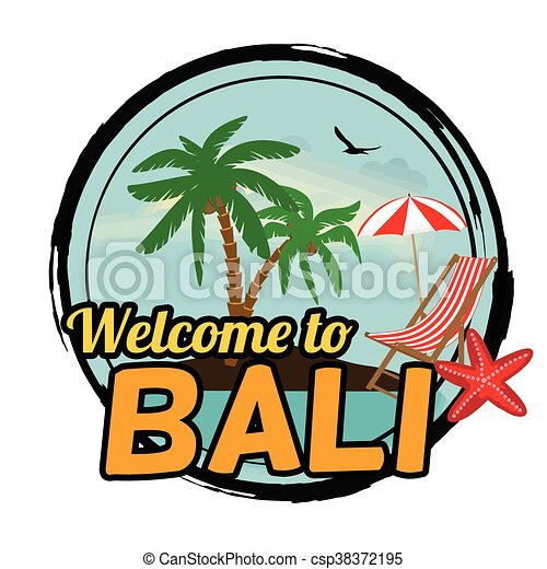 Welcome to bali sign welcome to bali concept in vintage eps welcome to bali sign csp38372195 altavistaventures Gallery