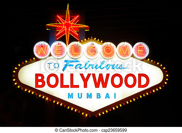 Welcome to Bollywood  - csp23659599