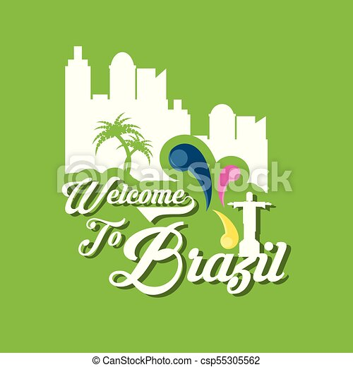 Welcome to brazil design - csp55305562