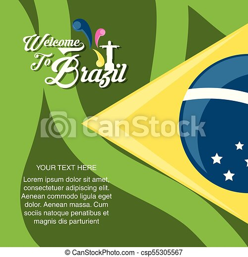Welcome to brazil design - csp55305567