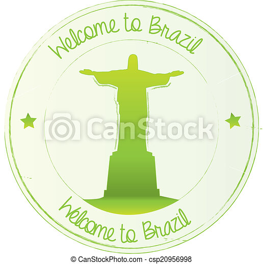 Welcome to brazil - csp20956998