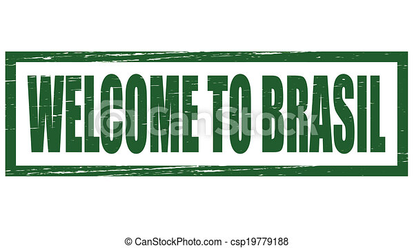 Welcome to Brazil - csp19779188