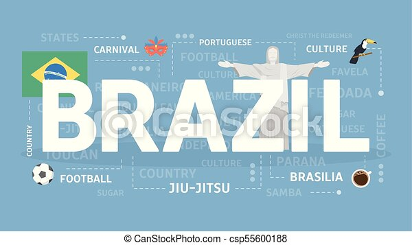 Welcome to Brazil. - csp55600188