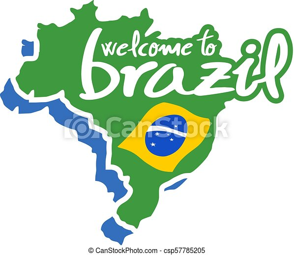 Welcome To Brazil Symbol