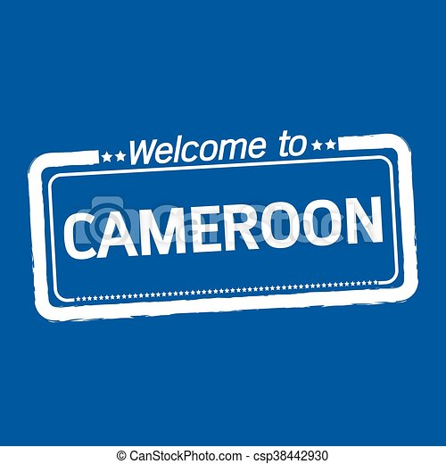 Welcome to CAMEROON illustration design - csp38442930