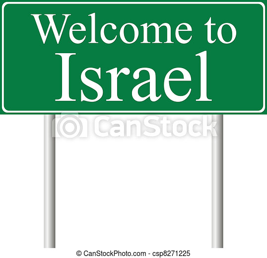 Welcome to , concept road sign - csp8271225
