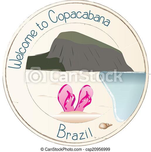 Welcome to Copacabana - csp20956999