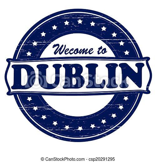 Welcome to Dublin - csp20291295