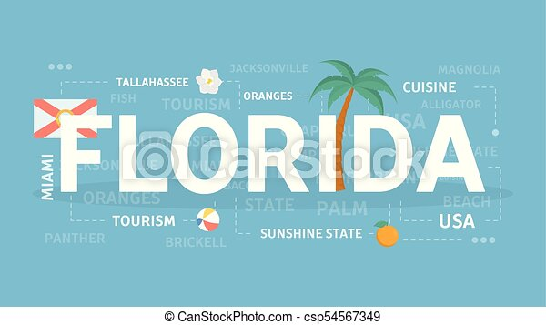Welcome to Florida. - csp54567349