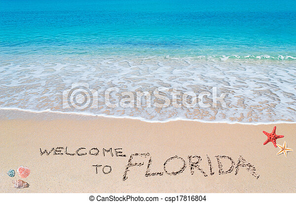 welcome to florida - csp17816804