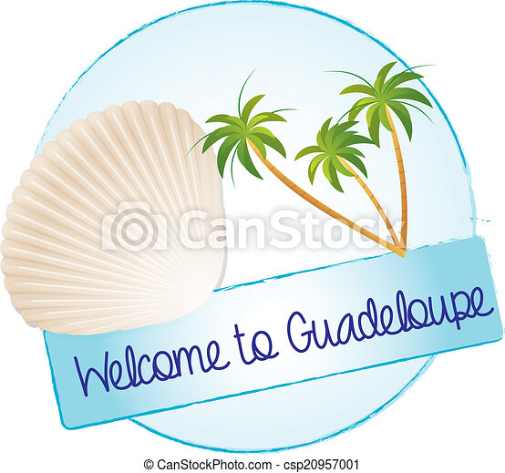 Welcome to Guadeloupe - csp20957001