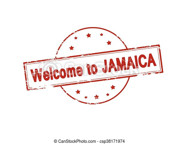 Welcome to Jamaica - csp38171974