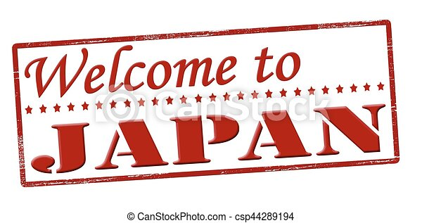 Welcome to Japan - csp44289194