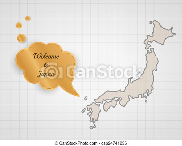 welcome to japan - csp24741236