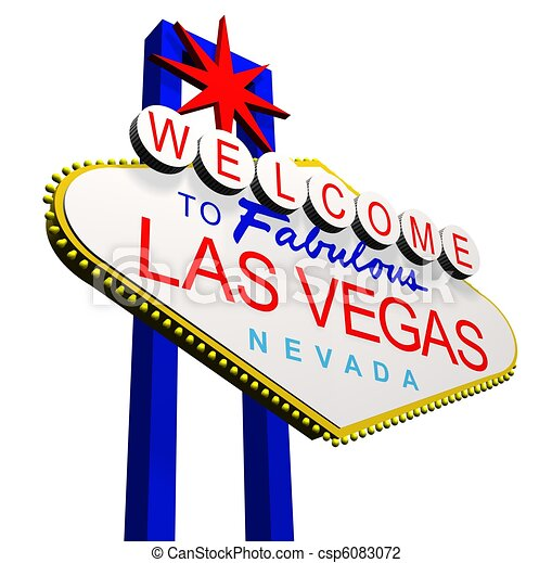 welcome to las vegas 3d render of the welcome to fabulous clip rh canstockphoto com las vegas clipart sign las vegas clip art and graphics