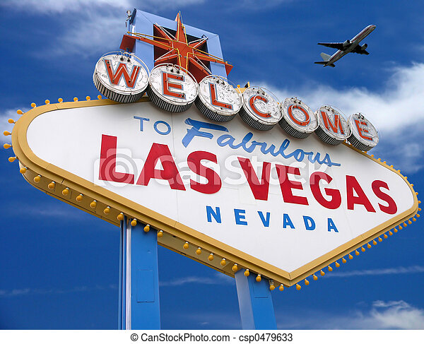 Welcome To Las Vegas - csp0479633