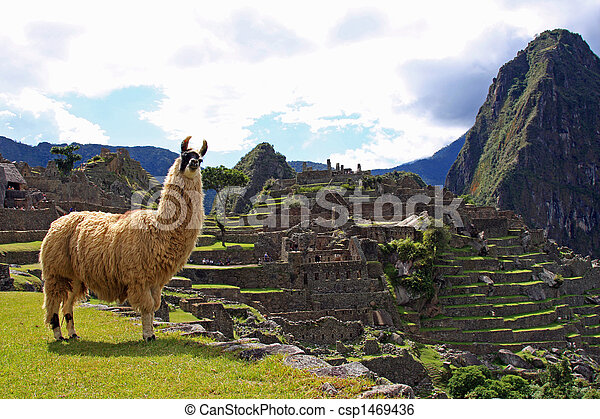 Welcome to Machu Picchu - csp1469436
