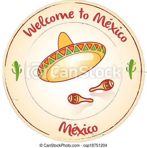Welcome to Mexico - csp18751204