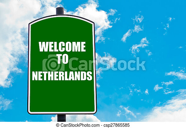 Welcome to NETHERLANDS - csp27865585